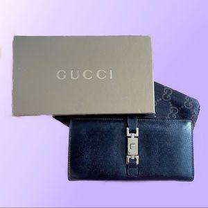 Gucci Clip Wallet Black